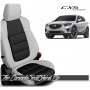 2013 - 2016 Mazda CX5 Pearl White Custom Leather Seats