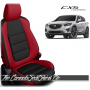 2013 - 2016 Mazda CX5 Salsa Red Custom Leather Seats