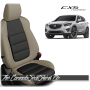 2013 - 2016 Mazda CX5 Tan and Black Custom Leather Seats