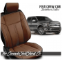 2015 - 2020 F150 Black Mahogany Limited Edition Saddleback Leather Upholstery