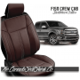 2015 - 2020 F150 Black Coffee Limited Edition Saddleback Leather Upholstery