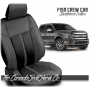 2015 - 2020 F150 Charcoal Black Limited Edition Saddleback Leather Upholstery