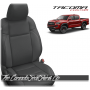2016 - 2021 Toyota Tacoma Graphite Custom Leather Seats