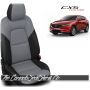 2017 - 2020 Mazda CX5 Sport Custom Cement Leather Seats