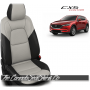 2017 - 2020 Mazda CX5 Sport Custom White Leather Seats