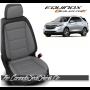 2018 - 2021 Chevrolet Equinox Katzkin Dealer Pak Leather Kits Black and Ash