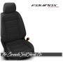 2018 - 2020 Chevrolet Equinox Custom Black Leather Seats