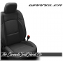 2018 - 2020 Jeep Wrangler JL Black Katzkin Leather Seats