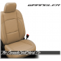 2018 - 2020 Jeep Wrangler JL Tan Katzkin Leather Seats