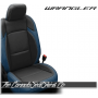 2018 - 2020 Jeep Wrangler Pacific and Black Katzkin Leather Seats