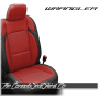 2018 - 2020 Jeep Wrangler Black and Salsa Katzkin Leather Seats