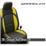 2018 - 2020 Jeep Wrangler Hyper Yellow Katzkin Leather Seats
