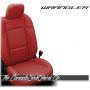 2018 - 2020 Jeep Wrangler Red Katzkin Leather Seats