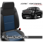 2019 - 2021 GMC Sierra Pacific Blue Combo Custom Designer Leather Seats