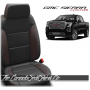 2019 - 2021 GMC Sierra Black Java Custom Designer Leather Seats