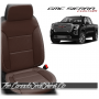2019 - 2021 GMC Sierra Coffee Custom Designer Leather Seats