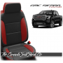 2019 - 2021 GMC Sierra Salsa Red Custom Designer Leather Seats