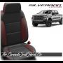 2019 - 2021 Silverado Custom Leather Seats Conversion