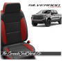 2019 - 2021 Silverado Katzkin Salsa Red Custom Designer Leather Seats