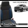 2019 - 2020 Chevrolet Silverado Katzkin Pacific Single Diamond Stitched Leather Seats