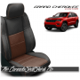 2011 - 2020 Jeep Grand Cherokee Custom Coffee Leather Seats