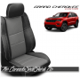 2011 - 2020 Jeep Grand Cherokee Custom Charcoal Leather Seats