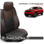 2011 - 2020 Jeep Grand Cherokee Custom Java Black Leather Seats