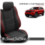 2011 - 2020 Jeep Grand Cherokee Custom Medium Red Leather Seats