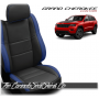 2011 - 2020 Jeep Grand Cherokee Custom Pacific Blue Leather Seats