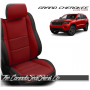 2011 - 2020 Jeep Grand Cherokee Custom Red Leather Seats