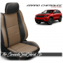 2011 - 2020 Jeep Grand Cherokee Custom Teak Leather Seats