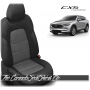 2017 - 2020 Mazda CX5 Touring Custom Black and Charcoal Leather Seats