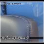 Tacoma Calvary Blue Leather Seat Design