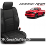 2009 - 2013 Dodge Ram Sport Black Custom Leather Seats