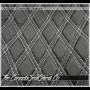 2019 - 2020 Chevrolet Silverado Double Diamond Stitched Insert Detail
