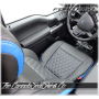 2015 - 2020 Ford F150 Crew Cab Tekstitch Leather Interior Top View
