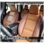 2020 - 2021 Jeep Gladiator Custom Leather Seats Mahogany Autumn Drivers Side