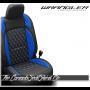 2018 - 2020 Jeep Wrangler JL Katzkin Tekstitch Sapphire Leather Seats