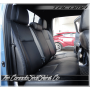 Toyota Tacoma Custom Black Leather Seats Rear Seat Photo