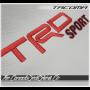 2016 - 2020 Toyota Tacoma Katzkin TRD Sport Embroidery
