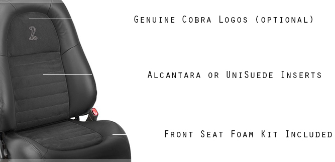 2001 Ford Mustang Cobra Leather Seats