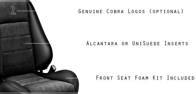 2003 - 2004 Ford Mustang Cobra Leather Seats