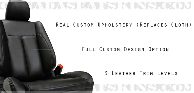 Nissan Altima Coupe Katzkin Leather Seat Design