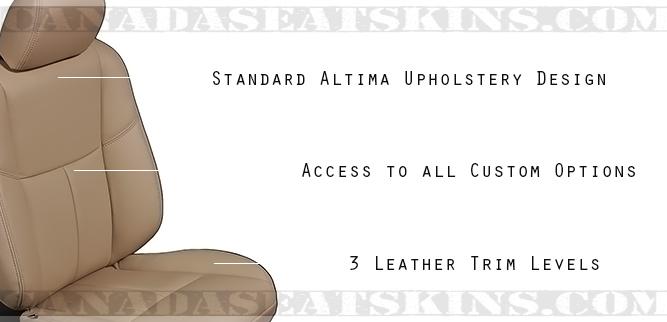 2013-2017 Nissan Altima Katzkin Leather Seat Designs