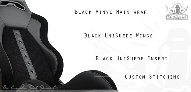TMI VXR Villain Pro Series Racing Bucket Seat Kit