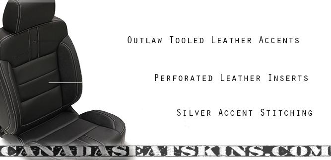 Katzkin Outlaw Seat Design