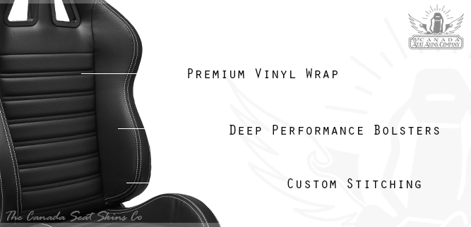 Pro Series Chicane Sport Seat in Jet Black Vinyl