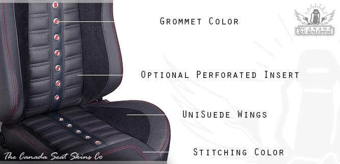 Sport XR High Back Restomod Bucket Seat Kit