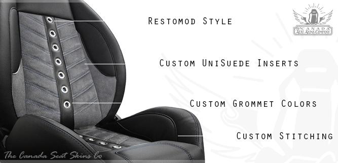 1967 - 1969 Firebird VXR Pro Touring Seat Design Detail