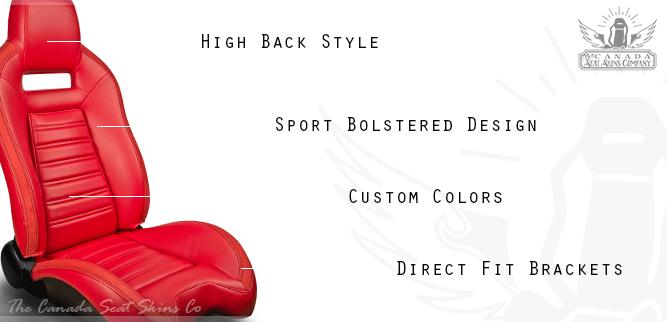 TMI Viper Pro Series High Back Bucket Seat Sale